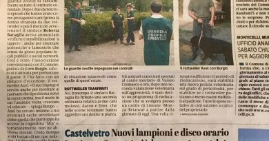 Caorso (PC), GEZ in campo per controlli anti esche avvelenate e sensibilizzazione per l'educazione e la gestione di cani di grossa taglia