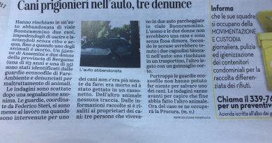 Le Gez di Cagliari denunciano 3 persone per maltrattamento di animali