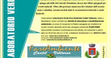 """Laboratorio Verde Castel Volturno. Siete tutti invitati all'evento """"RISCOPRIAMO IL VALORE DELLA BATTIGIA"""""""