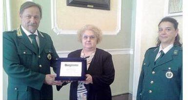 Il Responsabile Provinciale di Piacenza Loris Burgio ha consegnato una targa ricordo al Vice Prefetto Dott.ssa Razza